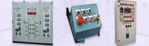LT panels, automation panels, control desks